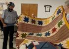 Veterans presented with Quilts of Valor at Muldrow VFW